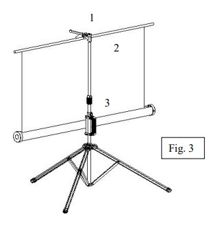 Set Projector Screen Fig 3
