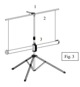 Set Projector Screen Fig 3